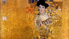 Adele Bloch-Bauer I by Gustav Klimt (1907), now known as the Woman in Gold