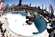World Cup Skateboarding and Bowl-A-rama in Bondi Beach