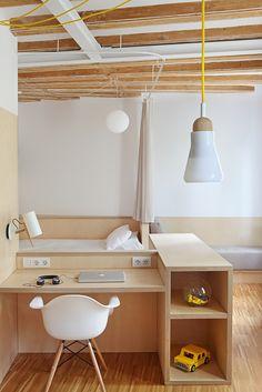 """Apartment Pujades11 by Miel Arquitectos & Studio P10 """"Location: Barcelona, Spain"""" 2015"""