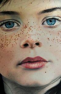 Amazing color pencil portrait by Amy Robins