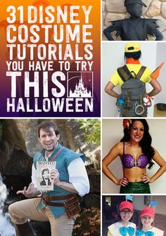 Disney-themed Halloween Costumes!  Loads of inspiration here!