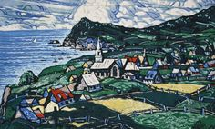 View L'anse aux Gascons By Marc-Aurèle Fortin; Tapestry by Royal Aubusson; Access more artwork lots and estimated & realized auction prices on MutualArt. Artwork, City Photo, Tapestry, Hanging Tapestry, Work Of Art, Tapestries, Needlepoint, Wallpaper, Rug Hooking