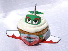 Disney Planes - Inspired El Chupacabra Cupcake Wrapper (Instant Download)
