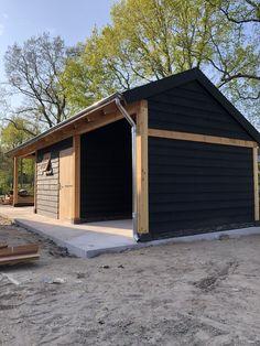 Modern Barn, Garage Doors, Shed, Outdoor Decor, House, Ideas, Home Decor, Kiosk, Glass House
