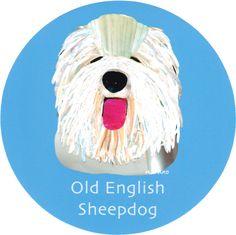 マイ @Behance プロジェクトを見る : 「015 | Old English Sheepdog」 https://www.behance.net/gallery/42194515/015-Old-English-Sheepdog