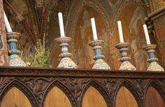 Inside Matthias Church - Budapest, Hungary