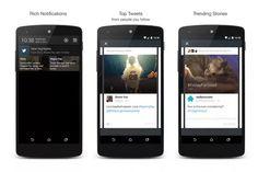 Twitter Destacados en Android es la mejor función que nadie utiliza