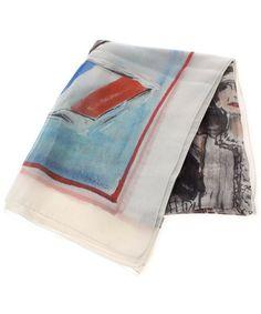 CHANEL(シャネル)の古着「12P スカーフ(バンダナ/スカーフ)」 ホワイト