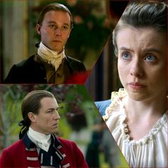 """Outlander 2x12 """"The Hail Mary"""": Mary, Jack, and his brother, Alexander"""