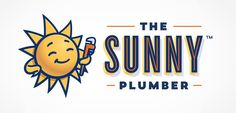 Logo design and brand development for The Sunny Plumber, an Arizona-based plumbing company. Warm, friend, and at your service. That's what a great brand communicates. #graphicdesign #design #logo #advertising #newdesign #branding #branddevelopment #smallbusiness