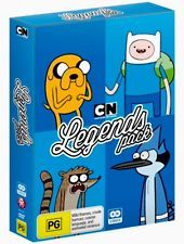 Legends Pack : Adventure Time / Regular Show (DVD, Box Set, 2015) New & Sealed Regular Show, Birthday Gifts For Kids, Adventure Time, Legends, Packing, Gift Ideas, Box, Christmas, Bag Packaging
