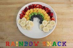Healthy Rainbow Snack |