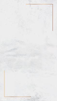 Gold frame on white mobile phone wallpaper vector Pastel Background Wallpapers, Gold Wallpaper Background, Framed Wallpaper, White Wallpaper, Pastel Wallpaper, Tumblr Wallpaper, Cute Wallpapers, Wallpaper Backgrounds, Solid Background