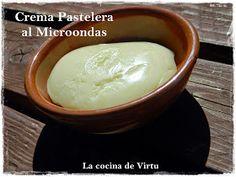 La cocina de Virtu: Crema Pastelera al Microondas