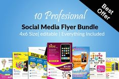 Accounting bookkeeping flyers by kinzi21 on creative market 10 social media flyer bundle vol01 by design up on creativemarket fandeluxe Images