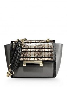 Best Handbags and Purses :    Picture    Description  Dianne Von Furstenberg Snakeskin & Leather Mini Shoulder Bag – Shop ways to get your wardrobe ready for fall: shop.harpersbazaa…