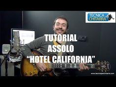 Lezioni di chitarra: tutorial assolo Hotel California