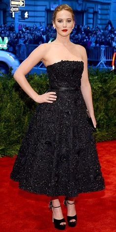 Jennifer Lawrence Met Gala 2013 babe is always stunning! In Dior and Brian Atwood! #metgala