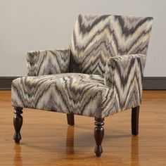 @Overstock - Energize your space with this patterned club chair by Hayes Club. The warm espresso finish and modern burgundy, purple, black and cream colors will pop in your home, especially against a solid sofa or sectional. It will provide hours and comfort.http://www.overstock.com/Home-Garden/Hayes-Club-Chair/6432876/product.html?CID=214117 $211.99