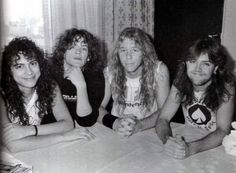 Metallica Kirk Hammett, Jason Newsted, James Hetfield, Lars Ulrich