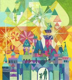 Disneyland Diamond Anniversary Art Print