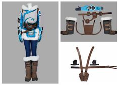 Overwatch OW Dr. Mei Ling Zhou Cosplay Costume #overwatch #DrMei #cosplay #costume
