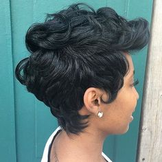 straight-hairstyles-are-easy - Fab New Hairstyle 2 Dope Hairstyles, Pretty Hairstyles, Straight Hairstyles, Ladies Hairstyles, Beautiful Haircuts, Simple Hairstyles, Hairstyles 2018, African Hairstyles, Short Sassy Hair