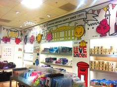 Selfridges Mr Men Pop Up Shop Graphics