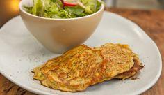 Vegetable Haloumi Pancake | Good Chef Bad Chef