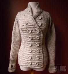 (4) Name: 'Crocheting : Three Seasons Cardigan