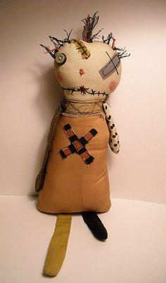 Junker Jane Art Dolls and Soft Sculptures: Art Dolls / Soft Sculptures