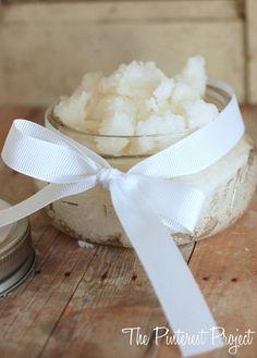 Coconut Sugar Scrub | The Pinterest Project