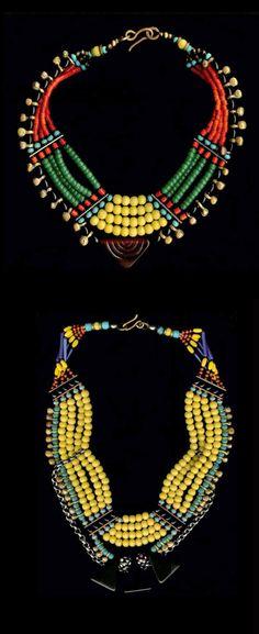 "Necklaces | Milene Rust.  ""Naga Inspiration"""