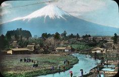 大宮村からの富士山