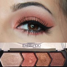 copper chic by maybelline   #smokyeyes #makeup #beauty - bellashoot.com