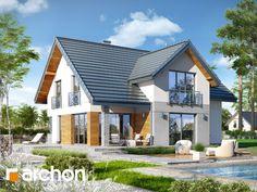 Dom w aurorach 3 - nowy #projektdomu w ofercie ARCHON+