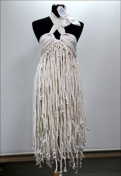 toilet paper dress by ~SIDsound on deviantART