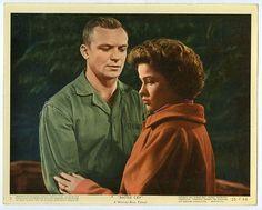 NANCY OLSON, ALDO RAY original lobby card 1955 BATTLE CRY