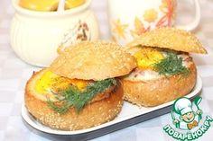 Фаршированные булочки к завтраку