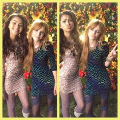 Love these pics of Bella and Zendaya <3