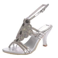 Win8Fong Women's Rhinestone Flower Patterned Handmade Sandals Slippers -- You can find more details by visiting the image link. (This is an affiliate link and I receive a commission for the sales)