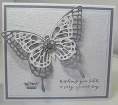 Butterfly Basics, Stampin' Up!, wedding,