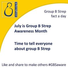Next month is Group B Strep Awareness Month.  Use the link to find out more! #GBSaware  http://ift.tt/297pc2l  #groupBStrep #StrepB #bStrep #groupStrepB #groupBStreptest #groupBStrepsupport #gbss #pregnancy #pregnant #baby #babies #prevention #InformedChoice #WhyGuess #awareness #fundraising #pregnancy #thirdtrimester #pregnancyhealth #pregnancyissues #knowledgeispower #expectantMum #Mumtobe #mum2be #healthypregnancy