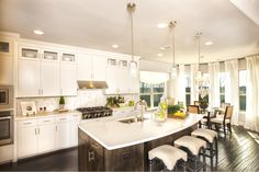 Canyon Falls Kitchen Dream Kitchens Beautiful Ceiling Lights Diy House Projects