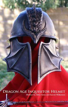 Dragon Age Inquisition Helmet - Imgur