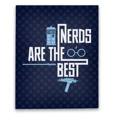 The Absolute Best#nerdy #nerdpride #drwho #startrek #canvas #print #nerd