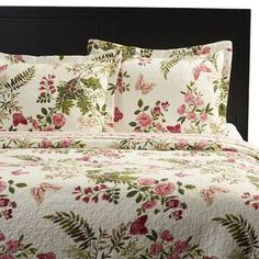 Beautiful Annaelle Reversible Quilt Set by Lark Manor Bedding Sale from top store Ruffle Bed Skirts, Ruffle Bedding, Farmhouse Bedding Sets, Contemporary Quilts, Contemporary Bedroom, Queen Quilt, Quilt Sets, Comforter Sets