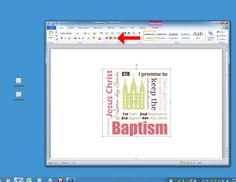 How to design in Microsoft Word