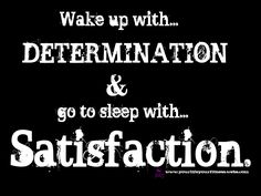 If you want a good nights sleep...set out to accomplish a goal and then crush it! Follow my journey to lost 50#'s and change my life. www.yourlifeyourfitness.webs.com