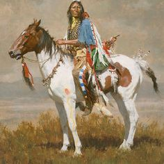 Native American Survival Skills that endure the test of time for hundreds of years and able to defy every hurdles nature tossed at them. The complete resource to teaching you hunting,fishing, fighting, making survival weapons, medical cures and more. Native American Horses, Native American Warrior, Native American Paintings, Native American Pictures, Native American Artists, Indian Paintings, American Indians, Art Occidental, Indian Horses